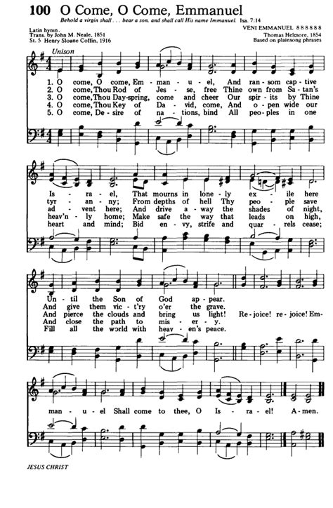 Hymns for the Living Church 100