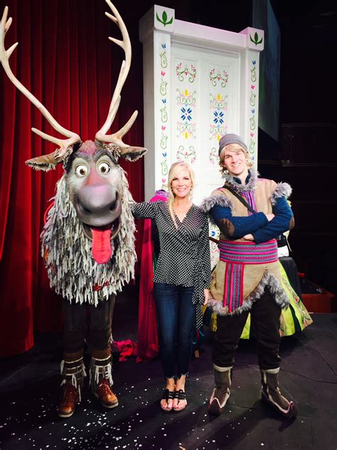 Go Backstage with the Stars of Disney's Frozen Musical on