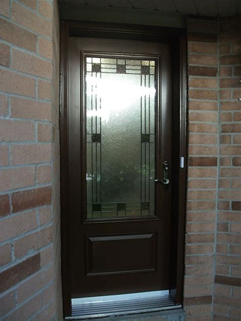 Stained Glass Exterior Doors - Front Entry Doors