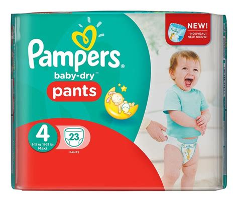 Couche Pampers taille 4 Baby-Dry pas chère (X23) - Maison