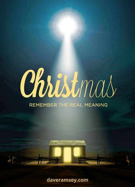 Christmas: Remember the Real Meaning | DaveRamsey