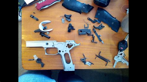 How to 100% disassemble Sig Sauer P226 - YouTube