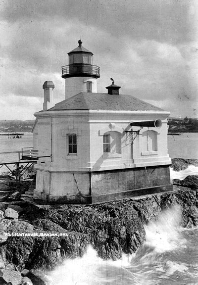 Coquille River (Bandon) Lighthouse, Oregon at